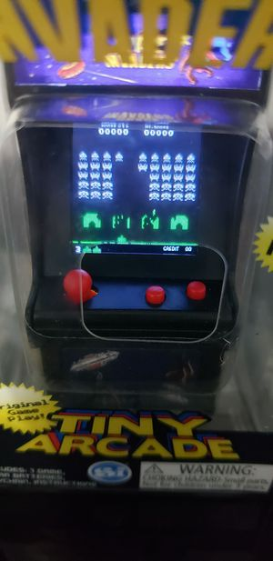 Tiny Arcade Space Invaders Fully Functional Replica of Atari Game for Sale in Des Moines, IA