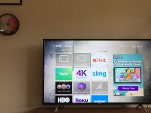 TCL 55 inch (55s405) with screen damage (broken) for Sale in Chevy Chase, MD