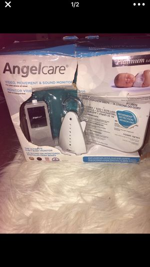 The Angelcare digital video, movement and sound monitor for Sale in St. Louis, MO