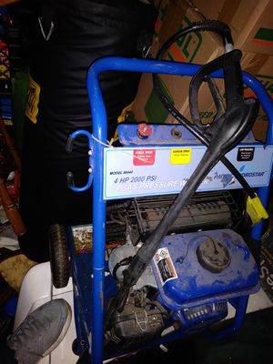 Pressure washer 4hp 2000 psi for Sale in Hull, MA