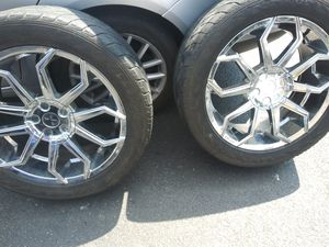 20 inch rims for truck or suv asking 800 obo can deliver if local for Sale in Lancaster, PA