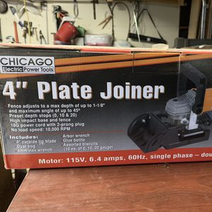 """New Chicago 4"""" Plate Joiner for Sale in Bradbury, CA"""