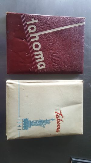 2 Stadium High School Tacoma yearbooks for Sale in Seattle, WA