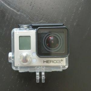 GoPro Hero3+ W/Waterproof Case for Sale in Gilbert, AZ
