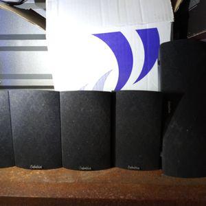 5 Piece Definitive Technology Pro Cinema Speaker Set With Center for Sale in Gilbert, AZ