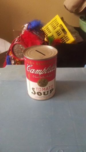 Campbells Soup Can Piggy Bank for Sale in Oklahoma City, OK