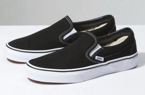 black slip on vans for Sale in Pelham, NH