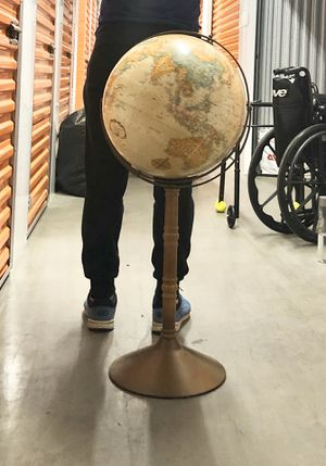 Vintage 1970s Replogle world classic series floor globe for Sale in Glendale, CA