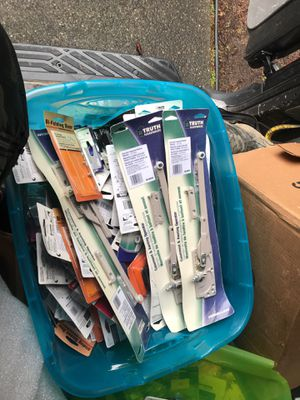 Box full of house remodeling stuff for Sale in Federal Way, WA