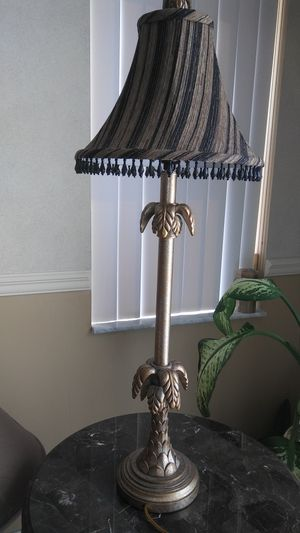 Console/Buffet Table Lamp With Shade for Sale in Miami, FL