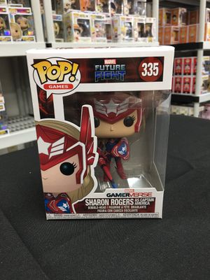 Marvel Future Fight - Sharon Rogers as Captain America Funko for Sale in Los Angeles, CA