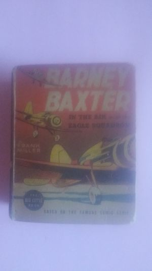 Vintage 1938 Big Little Book Baxter Bailey In The Air Eagle Squadron for Sale for sale  Lomita, CA