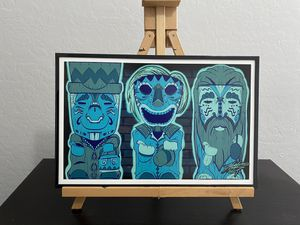 Hitchhiking Tiki Ghosts Print (size 11x17) for Sale in Glendale, AZ