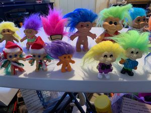 Trolls dolls lot for Sale in Worcester, MA