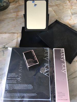 WHOLESALE - NEW Mary Kay Collection: 5-piece Brush Set & Bag PLUS Beauty Blender PLUS Brush Cleaner PLUS BONUS Mirror!! for Sale in Irvine, CA