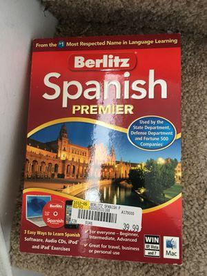 Berlitz Spanish premier for Sale in Ashburn, VA