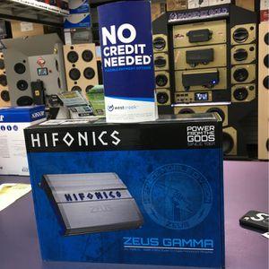 Hifonics Zeus Gamma Series 1800.1D for Sale in Torrance, CA