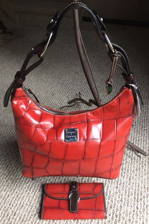 DOONEY & BOURKE CROC EMBOSSED NILE COLLECTION for Sale in University Place, WA