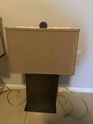Bronze Colored Lamp for Sale in Sebastian, FL