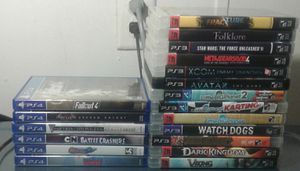 PS3 and PS4 games for Sale in Lost Creek, WV