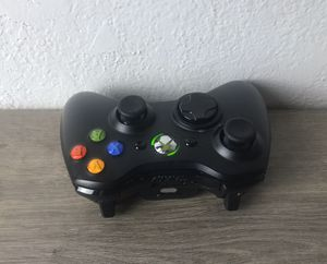 Official Microsoft Xbox 360 BLACK Wireless Controller Genuine Original OEM for Sale in Pittsburg, CA