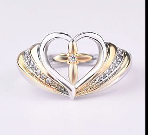 Heart/Cross Design Silver 925 Ring for Women for Sale in Wichita, KS