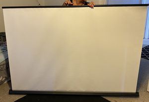 "Home projection screen 71 ~1/2"" for Sale in Denver, CO"