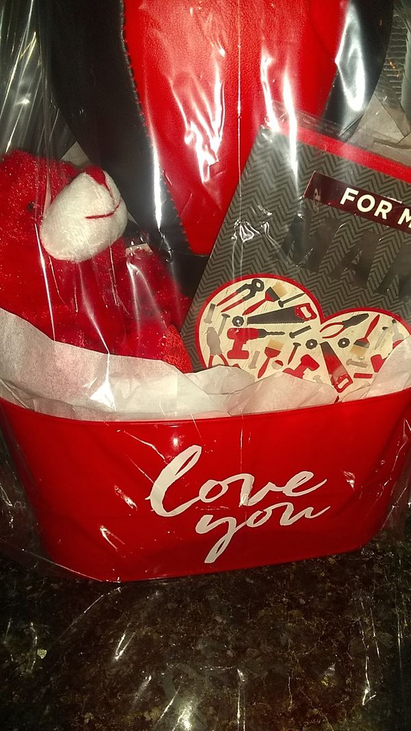Great Valentine's Basket for Him.......Only $15.00!!!
