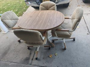 Beautiful dining table with 4 chairs for Sale in Williamsville, NY
