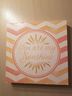 You Are My Sunshine Wooden Picture for Sale in Galloway,  OH