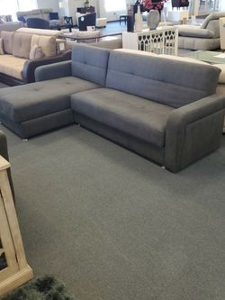 Sectional Sleeper Sofa With Storage for Sale in Wheeling,  IL