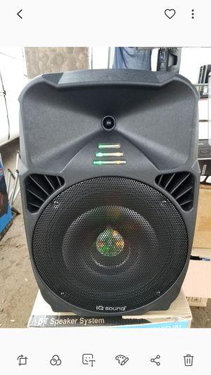 IQ sound 12 in speaker for Sale in Norwalk, CA
