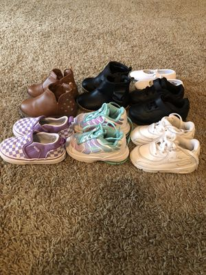 Gently worn toddler girl shoes for Sale in Lexington, KY