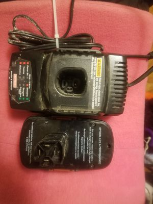 Craftsman Battery and Charger/Maintainer for Sale in New Bern, NC