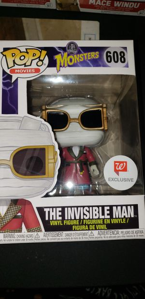 #608 The Invisible Man for Sale in San Antonio, TX
