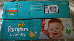 Pampers size 4 baby-dry for Sale in San Diego, CA