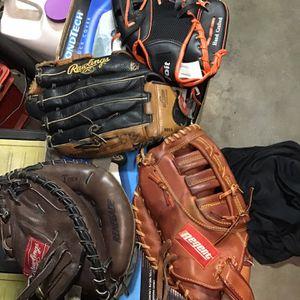 Baseball Gloves for Sale in Rialto, CA