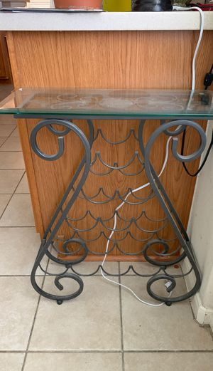 Wine console table (Kirklands) for Sale in Spring, TX