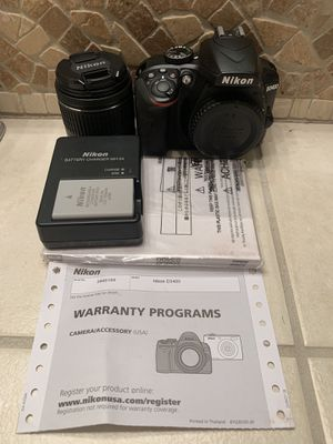 Nikon D3400 DSLR Camera with 18-55mm Lens for Sale in Winchester, CA