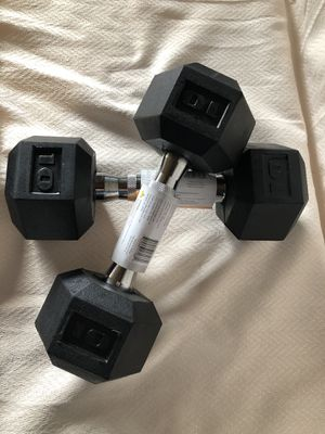 New Pair of 10 lb dumbbells for Sale in Windham, ME
