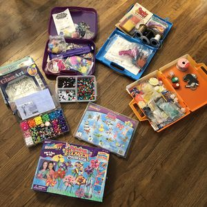 Huge lot of arts and crafts for kids or adults for Sale in Lemon Grove, CA