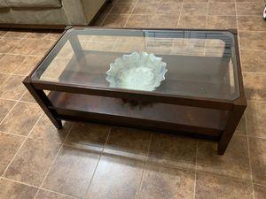 Glass coffee table for Sale in Manassas, VA