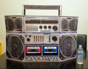 Old School Boom-Box Stand up Prop for Sale in Modesto, CA