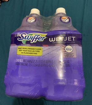 brand new swifter wet jet floor cleaner. 2 refills. for Sale in Fresno, CA