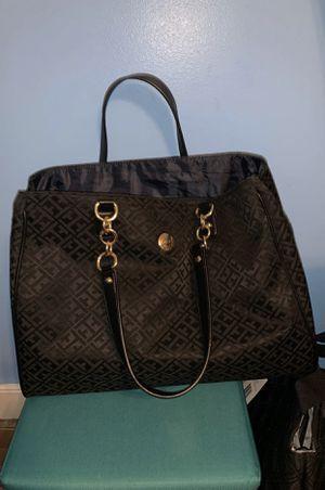 Tommy Hilfiger Black Tote Bag Purse for Sale in HVRE DE GRACE, MD