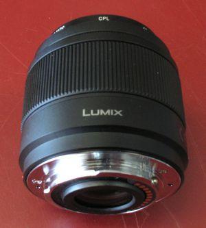 Panasonic H-H025 Camera Lens (Lumix) for Sale in Norfolk, VA