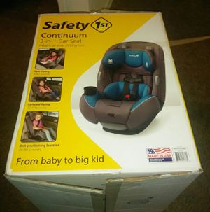 3 in 1 baby to kid car seat (Safety 1st) for Sale in Tulsa, OK