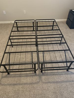 Full Size Metal Bed Frame for Sale in Rancho Cordova, CA