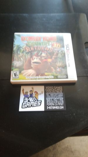 Fonkey Kong country returns 3d for Sale in Pomona, CA