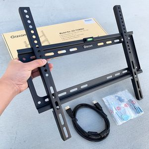 """(NEW) $10 Fixed 26""""-55"""" TV Wall Mount Bracket Low Profile, Max 110Lbs (w/ 5ft HDMI Cable) for Sale in El Monte, CA"""